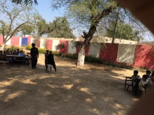 Mehmuda Jodhika Boys plantation helps the children bear the outdoors